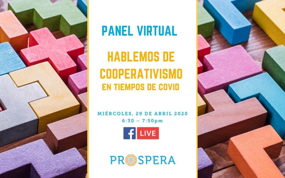 Panel Virtual: Hablemos de Cooperativismo en tiempos de Covid