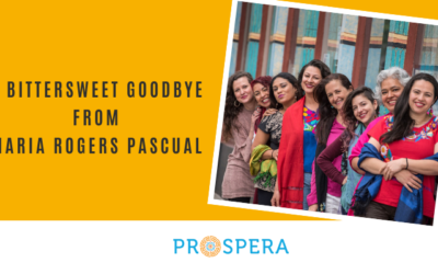 A bittersweet goodbye from Maria Rogers Pascual
