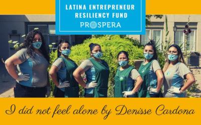 I did not feel alone by Denisse Cardona